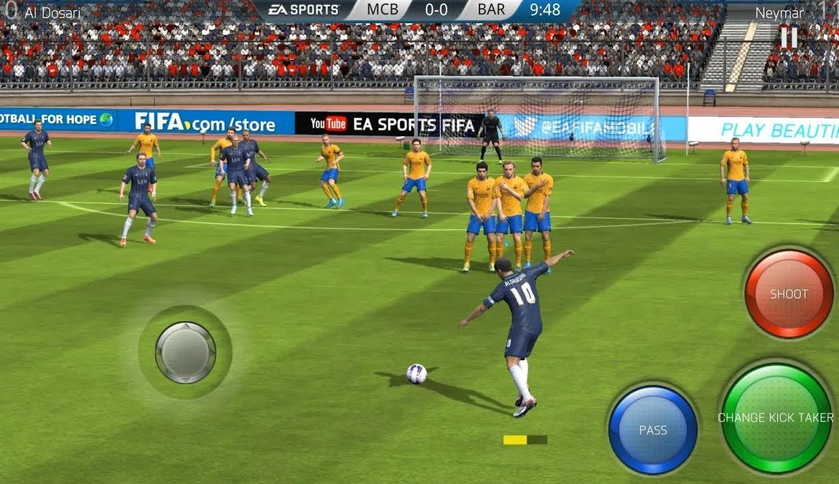 game bola offline